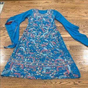 Abaya dress size 2 good condition